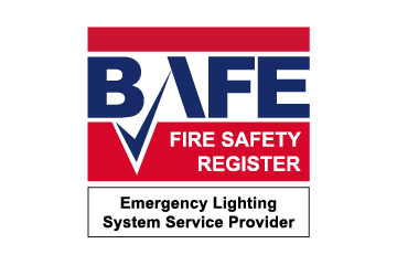 BAFE Fire Safety Register Emergency Lighting Provider Logo