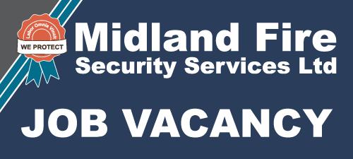 job vacancy at midland fire