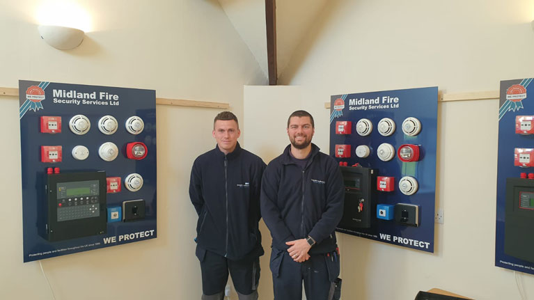 NHS Staff attend Midland Fire Fire Alarm Training Course
